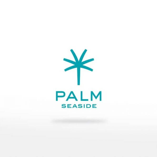 Palm seaside