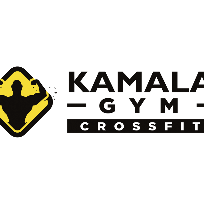 Kamala Gym Logo Horizontal (B&Y)