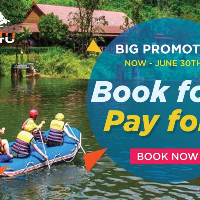 best rafting promotion 4 Pay 3 - 2